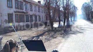 Милиция и бандиты в Смоленске. Съёмки сериала
