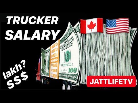 Canada Punjabi Trucker Salary 2019
