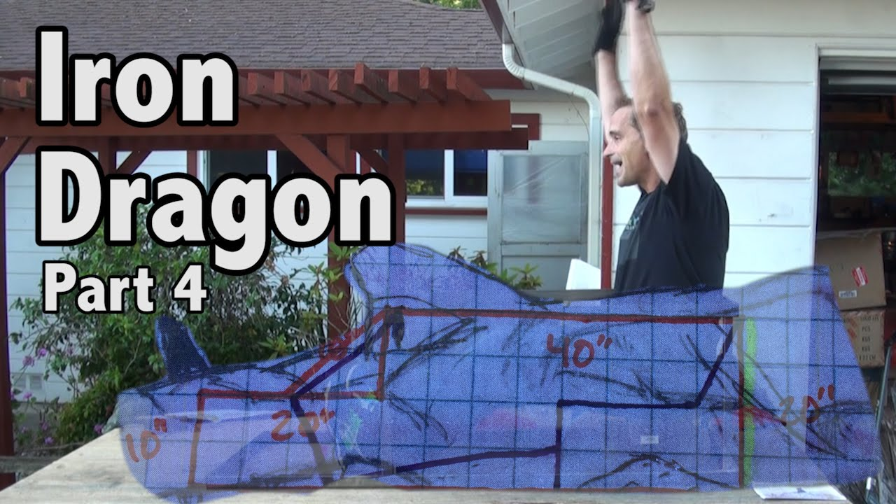 iron dragon backyard roller coaster part 4 youtube