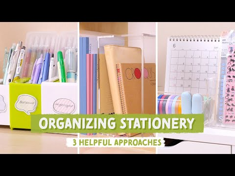 How to Organize Pens and Stationery: 3 Organization Ideas that Actually Work