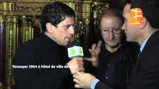 Idir et Saïd Taghmaoui , yennayer hotel de ville de paris