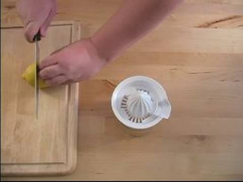 Diabetic Appetizer Recipes : How to Make Lemon Juice