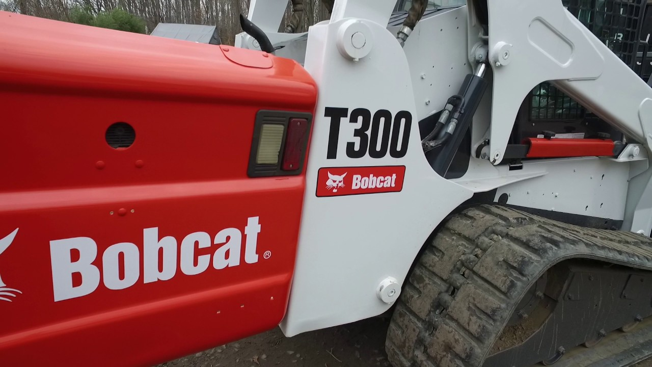 2006 Bobcat T300 With Bobcat Forestry Mulcher Stock  341