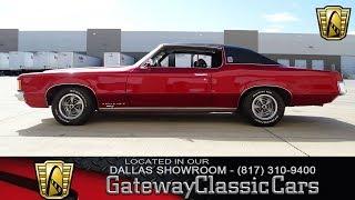 1969 Pontiac Grand Prix Model J #526-DFW Gateway Classic Cars of Dallas