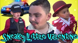 COPS TAKE IN SNEAKY VALENTINE - KIDS CAN