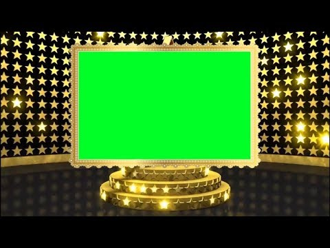 Beautiful Gold Animation Video Frame Background | Clean Indian Wedding Background | DMX HD BG 333