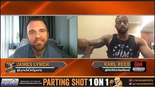 Karl Reed talks 864 FC matchup Saturday, Training w/ Stephen Wonderboy Thompson & Weight Cut Issues