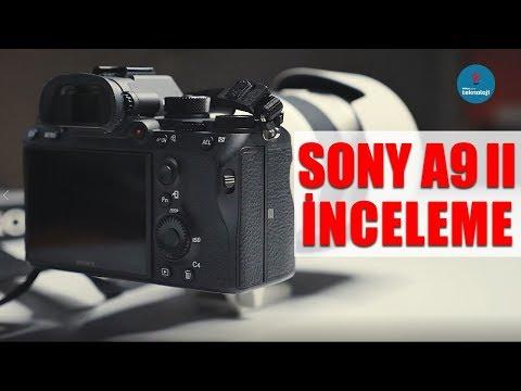 70.000 TL'lik FOTOĞRAF MAKİNESİ İNCELEDİK! SONY A9II İNCELEMESİ