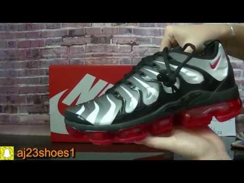 best website f9121 c281b 👟 NIKE AIR VAPORMAX PLUS Shark Foot Locker HD review from aj23shoes net
