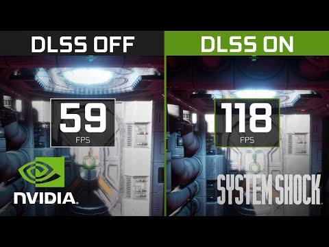 System Shock Demo | 4K NVIDIA DLSS Comparison