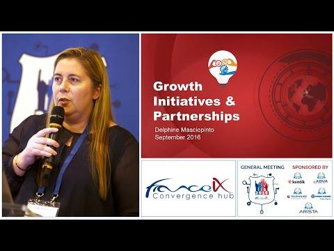France-IX Growth Initiatives & Partnerships by Delphine MASCIOPINTO, France-IX (GM 2016)
