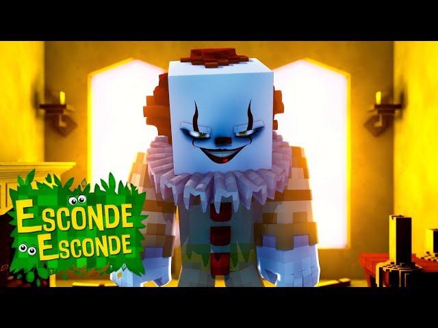Minecraft: IT - PALHAÇO ASSASSINO! (Esconde-Esconde)