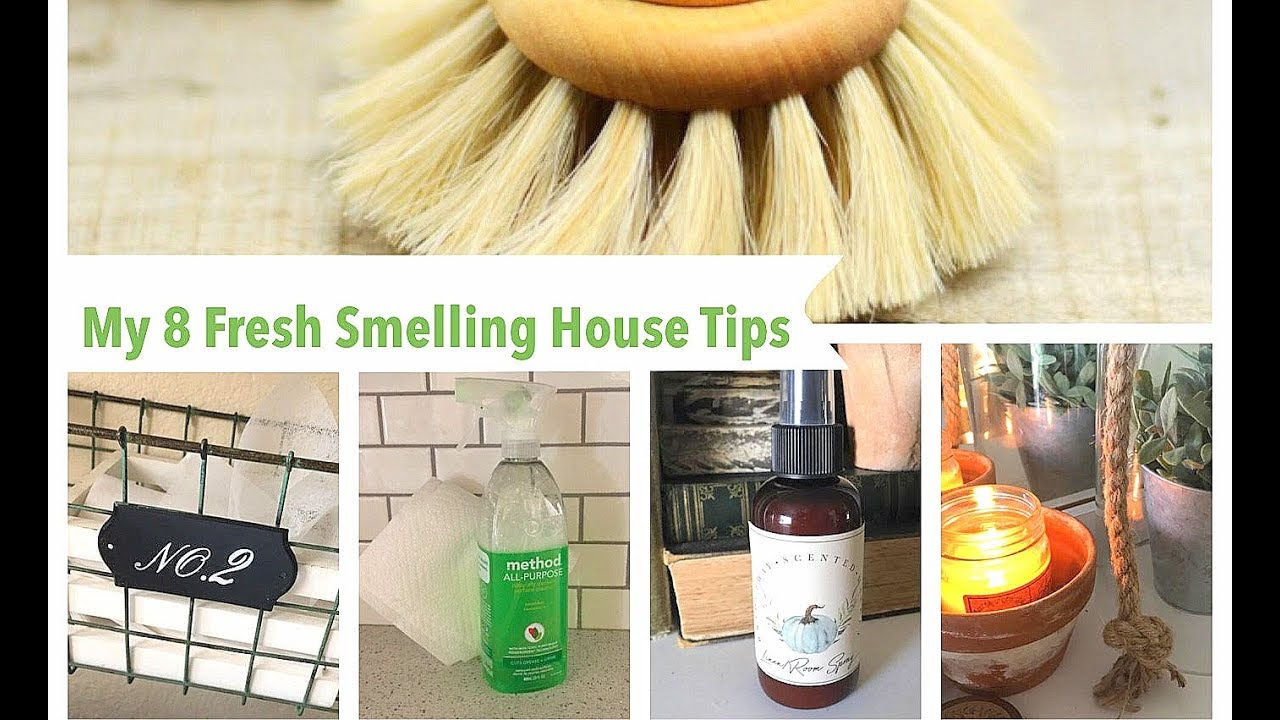 how to get the house smelling fresh