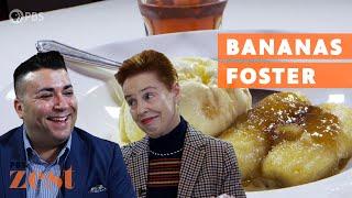 Bananas Foster: The Flaming Dessert