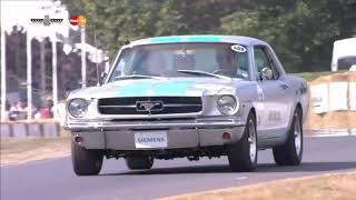 Autonomous Mustang Tackles The Goodwood Hill Climb