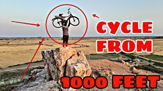 Cycle Drop Test From 1000 Feet Gone Wrong Experiments