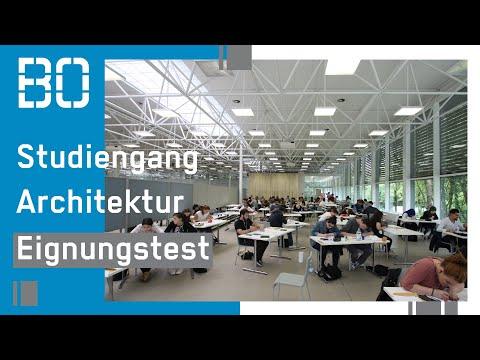 informationen zum eignungstest architektur bachelor - fb a, Innenarchitektur ideen