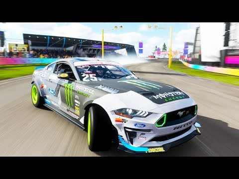 NEW FORMULA DRIFT RTR MUSTANG IS AMAZING | Forza Horizon 4 thumbnail