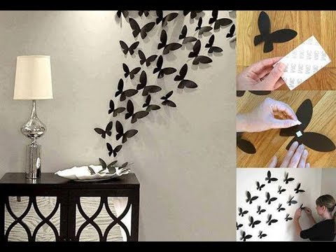 Beautiful art and craft ideas for home decoration youtube for Art and craft home decoration