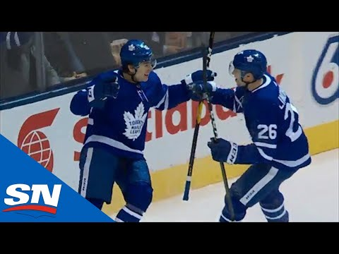 Trevor Moore Brings Maple Leafs Crowd To Its Feet With First Career NHL Goal