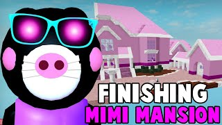 PIGGY - Building MIMI's MANSION! - Part Three (Roblox Piggy Build Mode!)