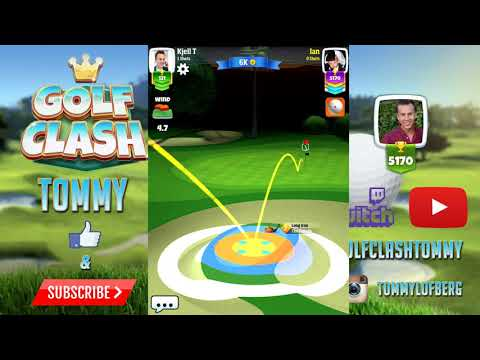 Golf Clash tips, TOUR 4 - Milano Hole 1 - Par 3, GUIDE/TUTORIAL