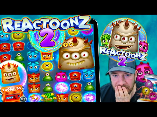 REACTOONZ 2!! 4 Gargas!! New Play n Go Slot, Any Good?