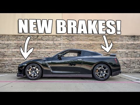 BRAKE UPGRADE FOR THE R35 GT-R!