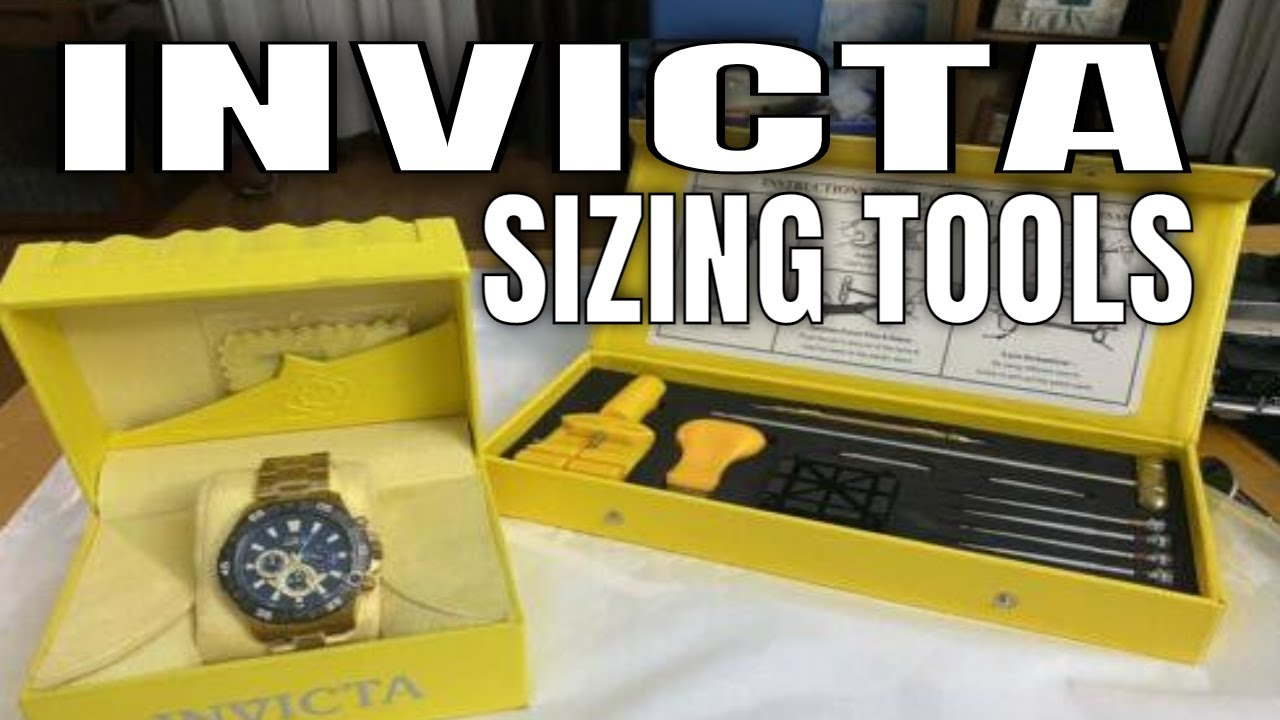 Invicta watches sizing tools also youtube rh
