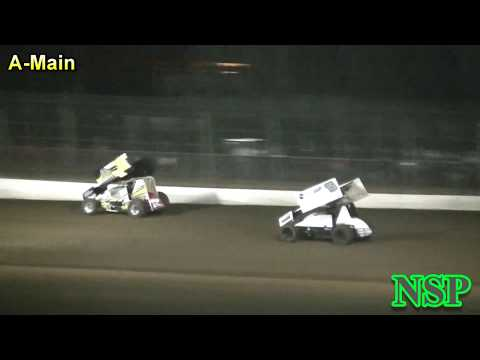 August 25, 2018 360 Sprints A-Main Grays Harbor Raceway