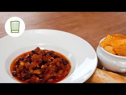 смотрите сегодня Chili Con Carne Selber Machen Chefkochde видео