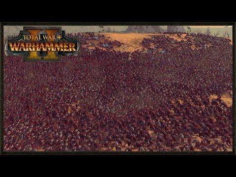 400 Elite High Elf Last Stand Vs 10,000 Skaven -  Total War: Warhammer 2 Gameplay