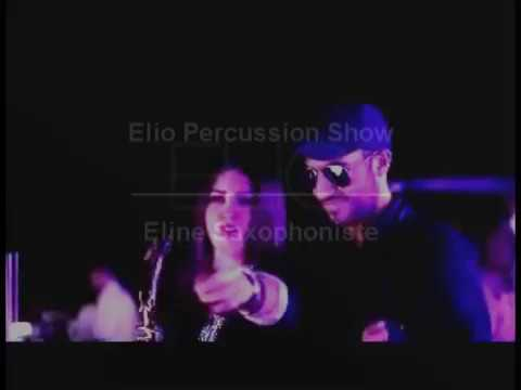 Movenpick Beirut Square Lounge Opening - Elio Percussion Show & Eline Saxophonist