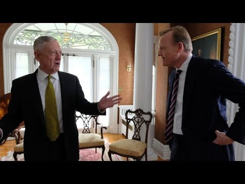 John Dickerson interviews Secretary James Mattis