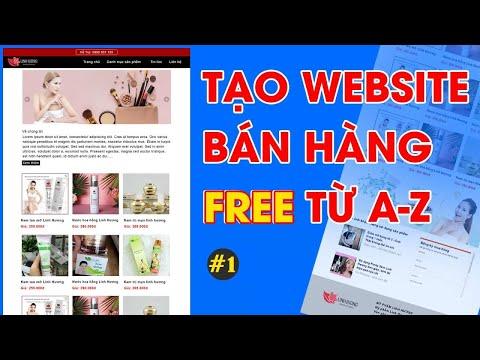 Tạo website bán hàng miễn phí đầy đủ tính năng với google site #1