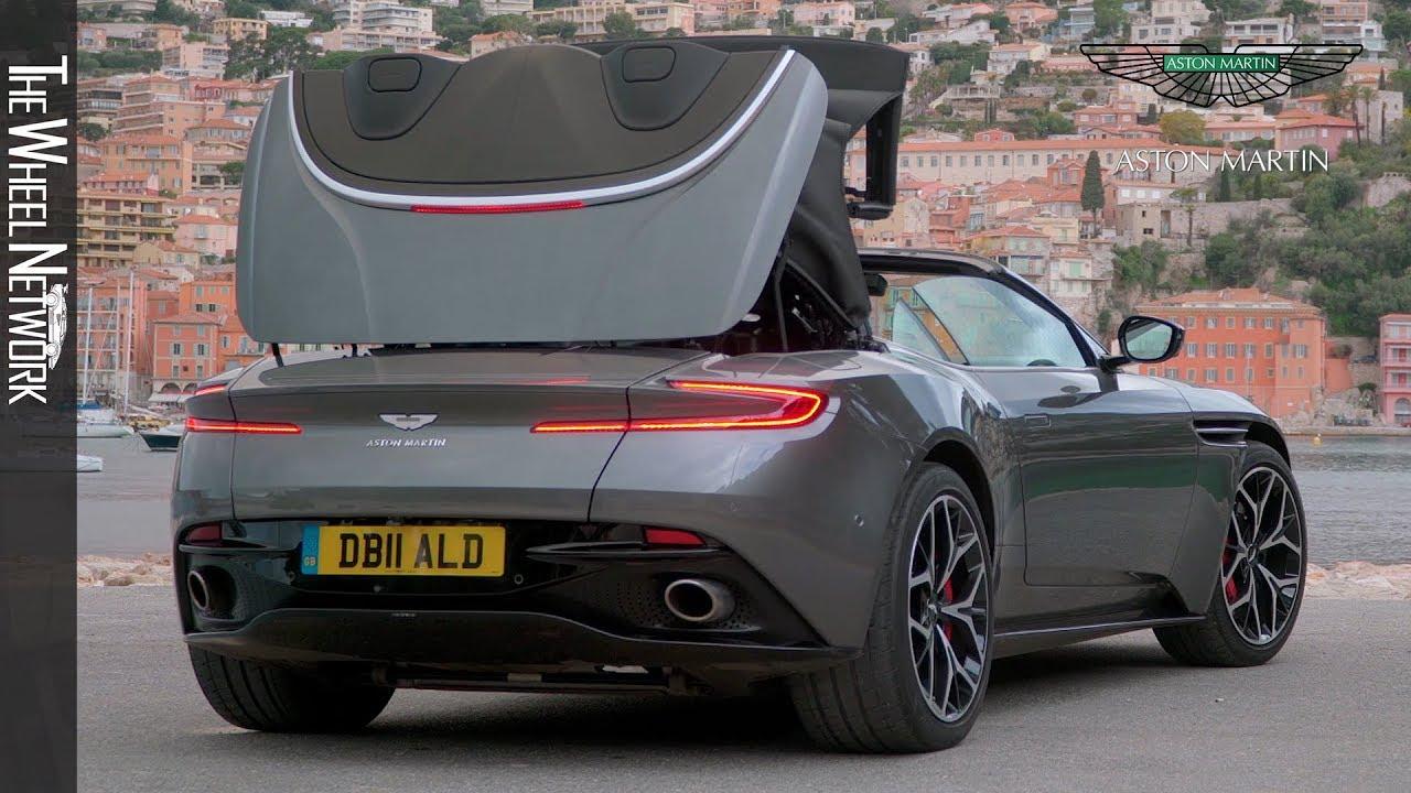 2019 Aston Martin Db11 Volante Exterior Interior Youtube