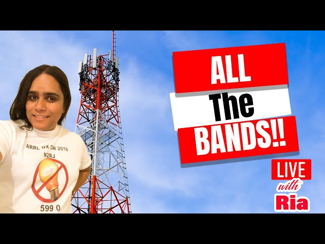 Live with Ria! - Which is the best amateur radio band? Your how-to guide.