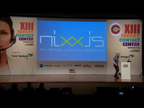 Nixxis CEO on Social Media Privacy - TCC conference 2017 – Istanbul