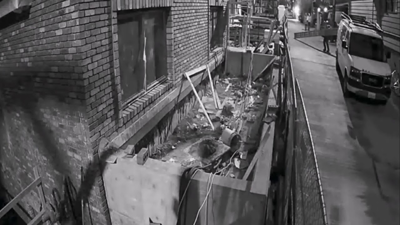 Theft and Property Damage Compilation at Construction Sites