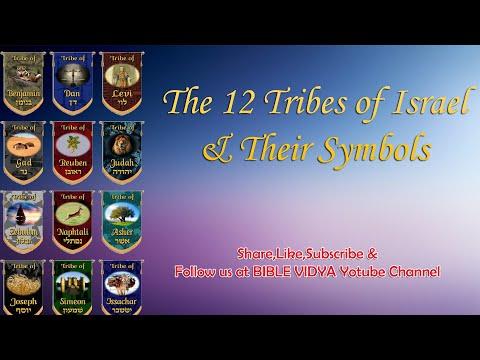 12 Tribes Of Israel \u0026 Their Symbols /ENGLISH SUNDAY SCHOOL MATERIAL /BIBLE VIDYA/
