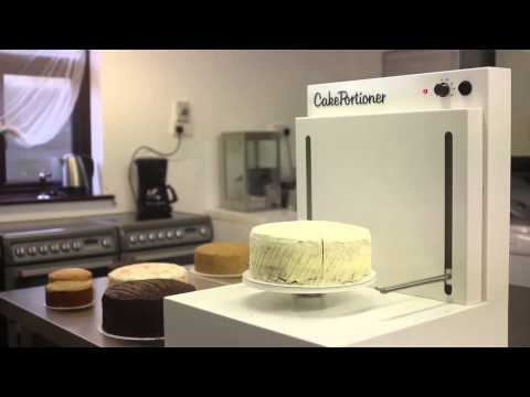MONO Equipment's CakePortioner - Slices Up To 120 Cakes Per Hour