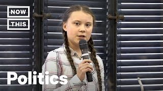 Greta Thunberg Schools Adults on Climate Change Inaction | NowThis