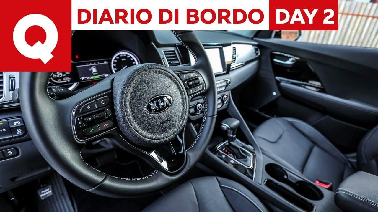 Kia Niro Plug In >> Kia Niro Hybrid Plug-In: alla scoperta degli interni - Diario di Bordo: Day 2 - YouTube