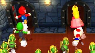 Mario Party 9 - Mario vs Luigi vs Peach vs Toad - Master CPU