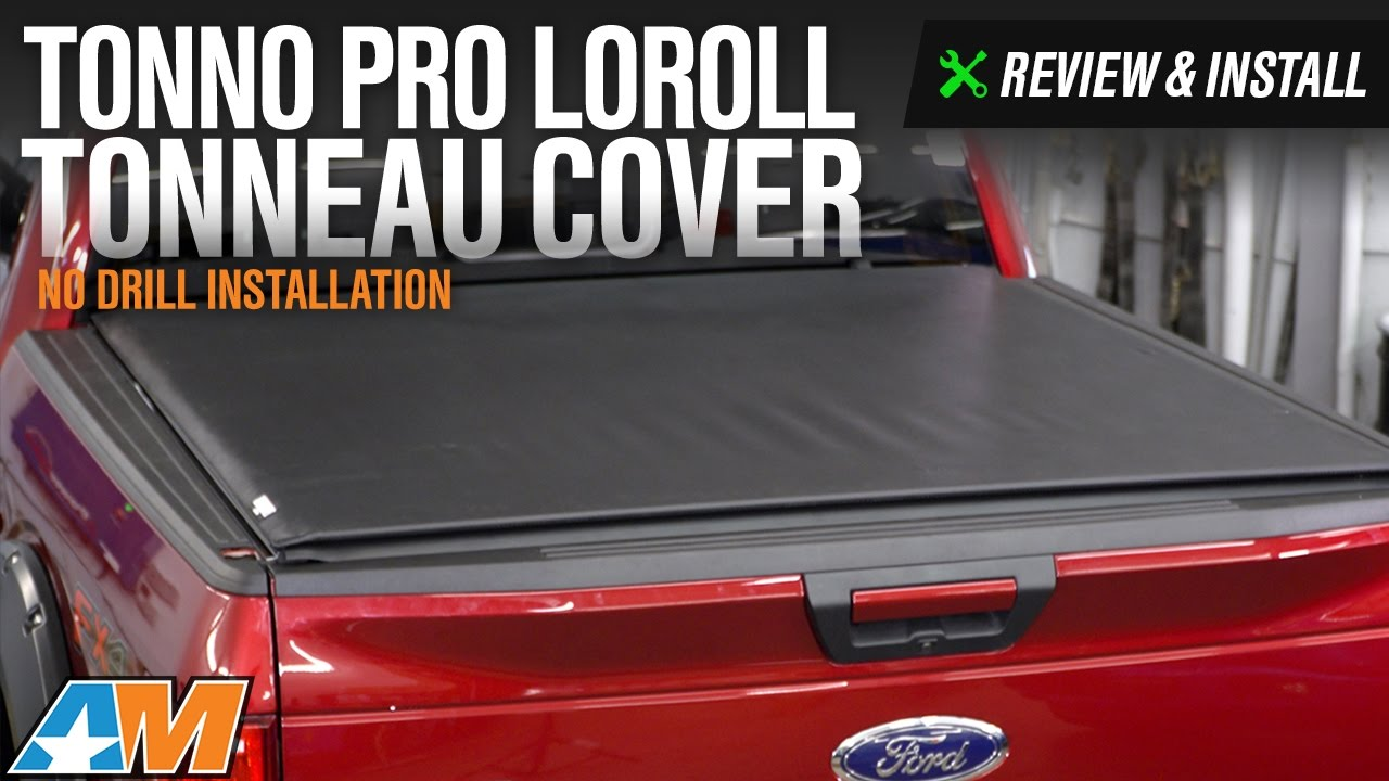 2009 2017 F 150 Tonno Pro Loroll Tonneau Cover Review Install Youtube
