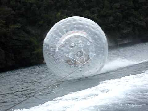water zorbing boat view cam LOCATION: PALAU