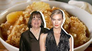 Ina Garten Vs. Karlie Kloss: Whose Apple Crisp Is Better?