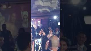 فرح عمرو يوسف وكندة علوش - عمرو يغني لكندة