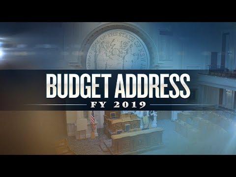 NJTV News Special Report: 2019 Budget Address