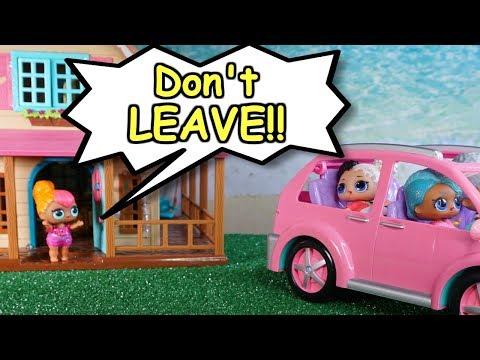 Lol Surprise Doll Cutie Ruins Sparkle's New Shoes!